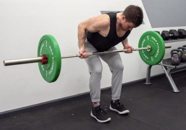 Supinated Grip Row