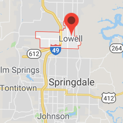 Lowell, Arkansas