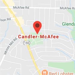 Candler-McAfee, Georgia