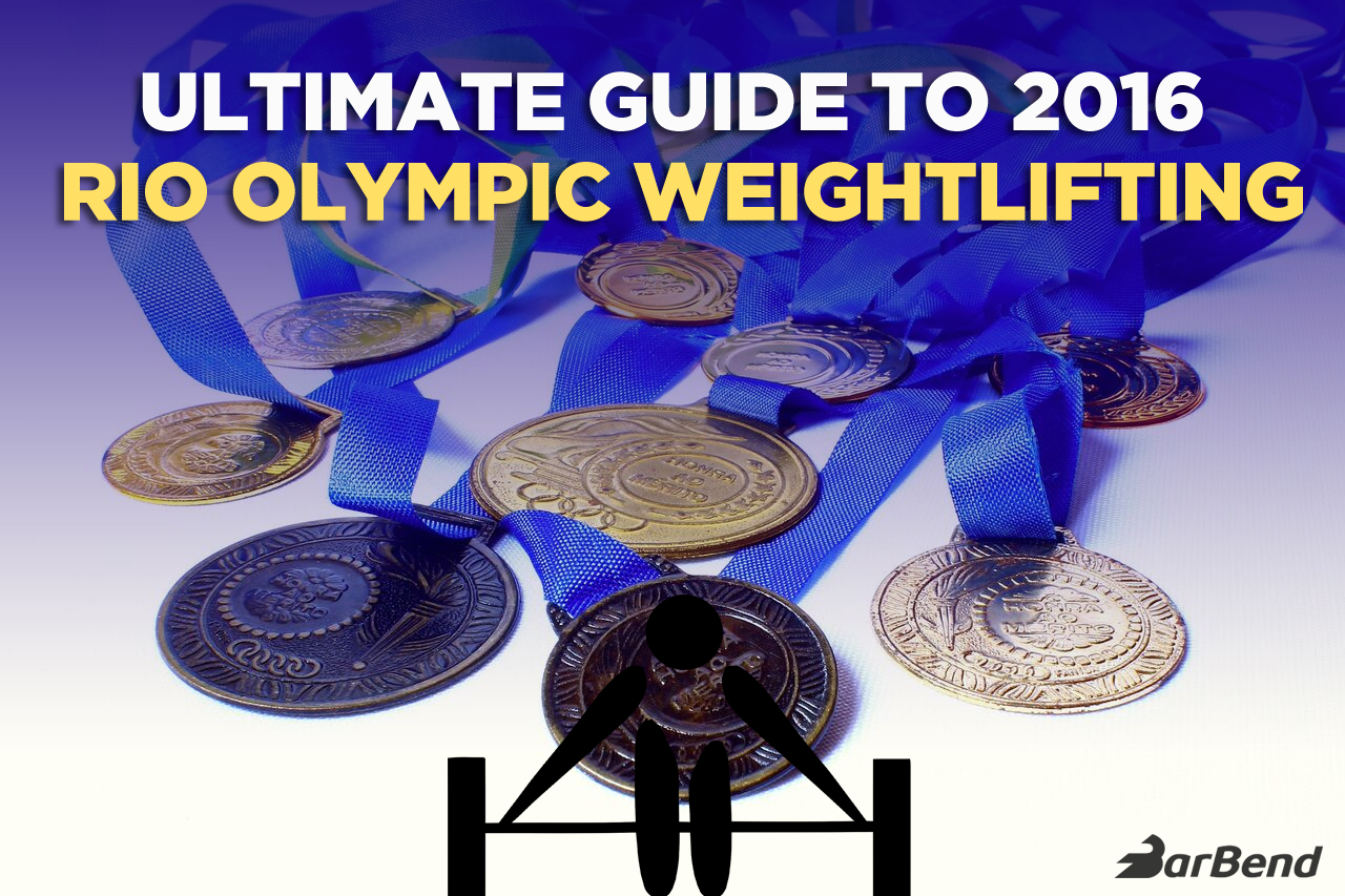 2016 Rio Olympic Weightlifting