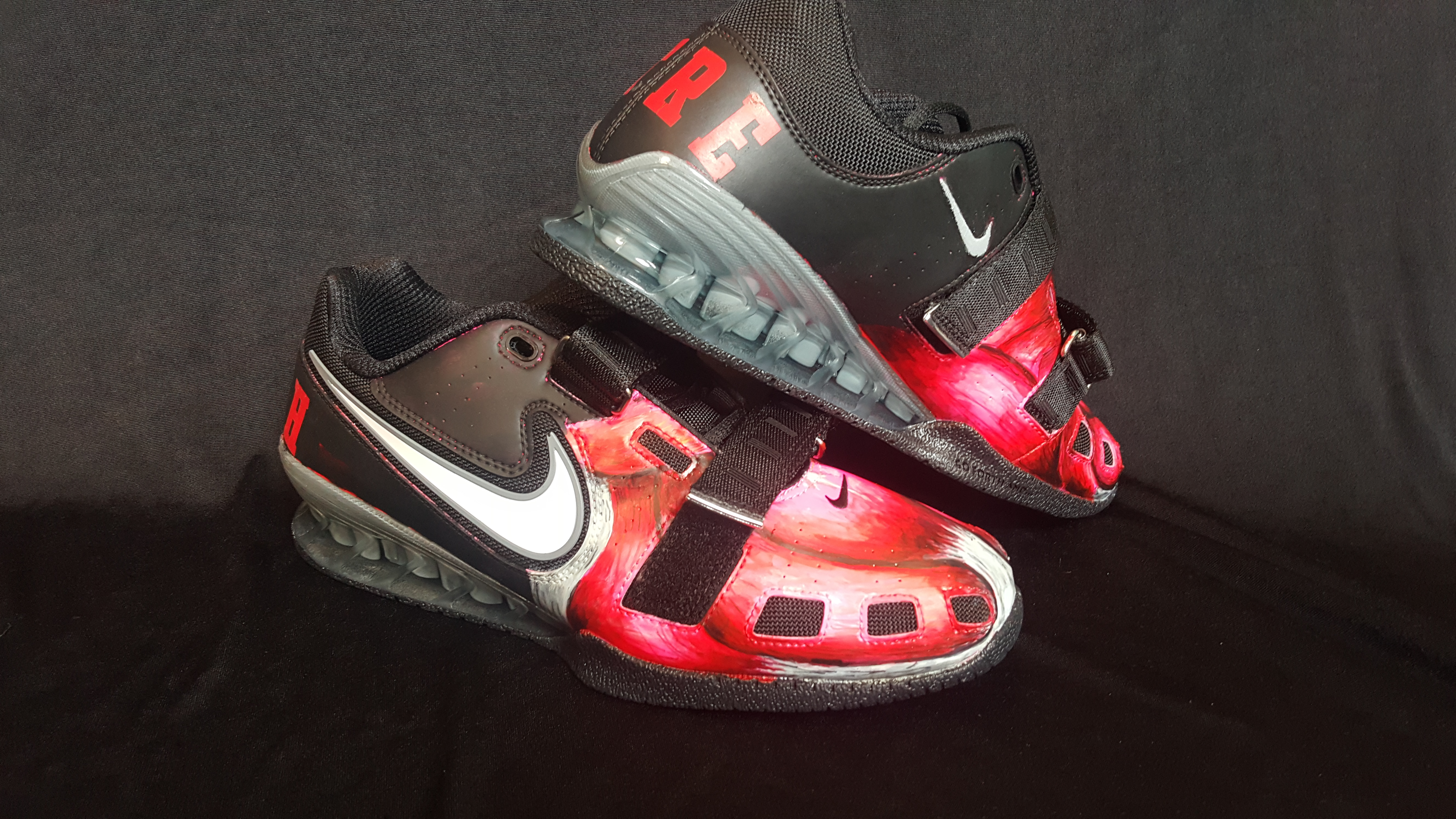 Josh Peters Customized Nike Romaleos