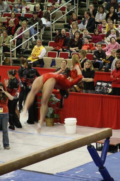Alexandra LaChance on beam