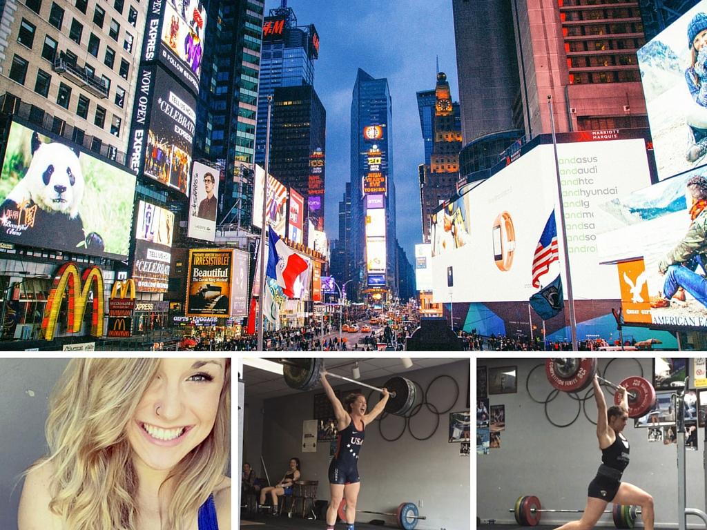 Mattie Rogers Times Square