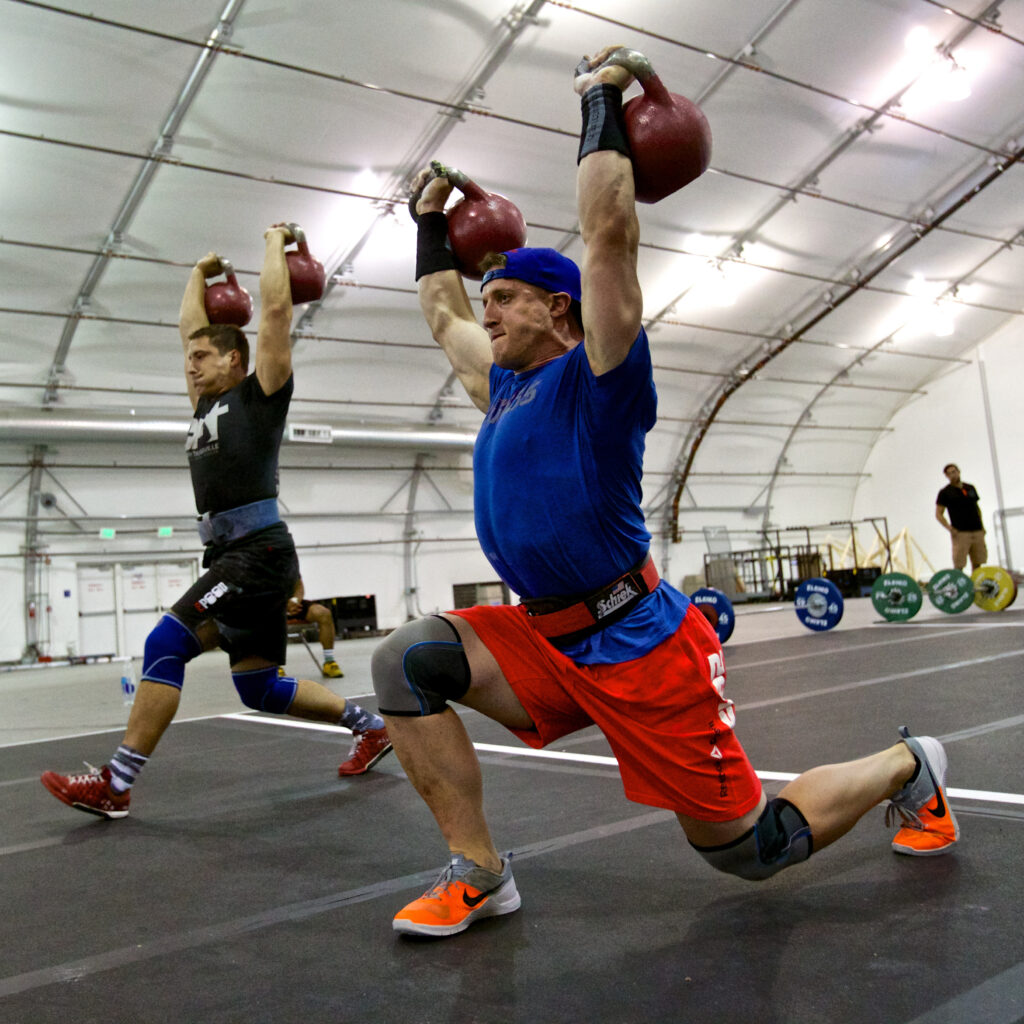 Nick Bloch training during the 2015 NPGL season.