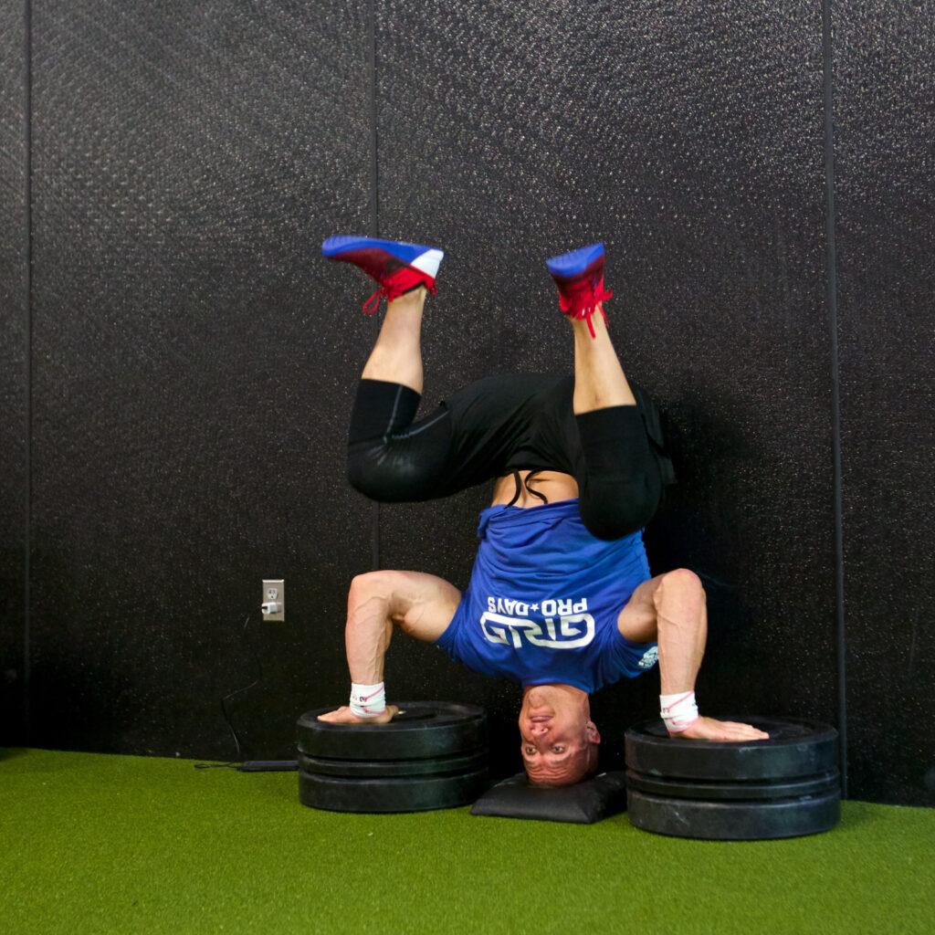 Nick Bloch training