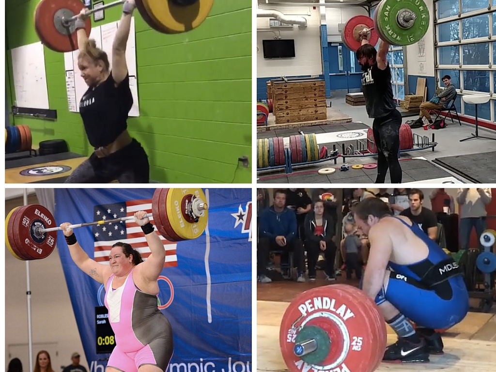 American Weightlifters Heading to Brazil