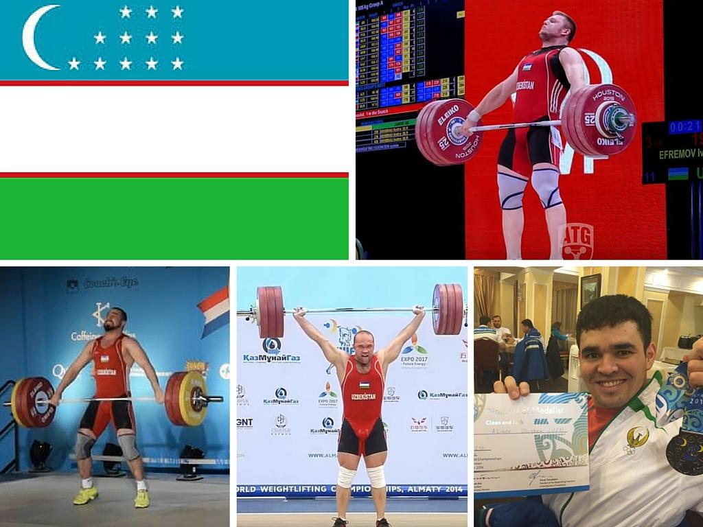 Uzbekistan Weightlifting Team