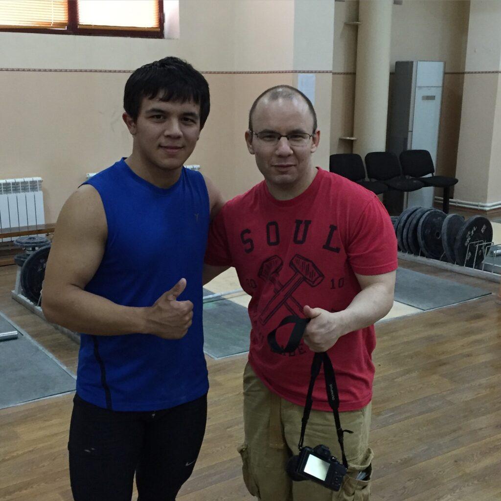 Graber and Doston Yakubov