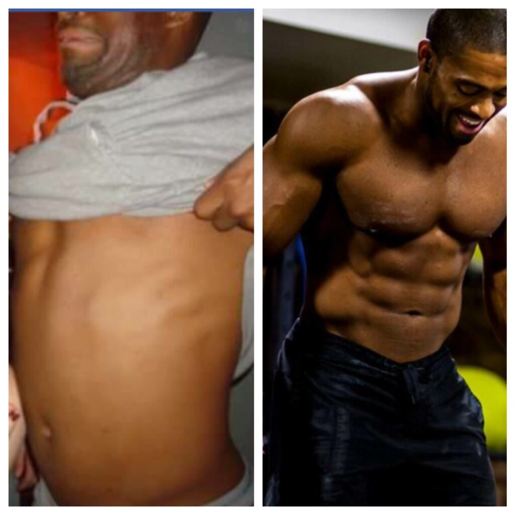 Andre Crews Before and After