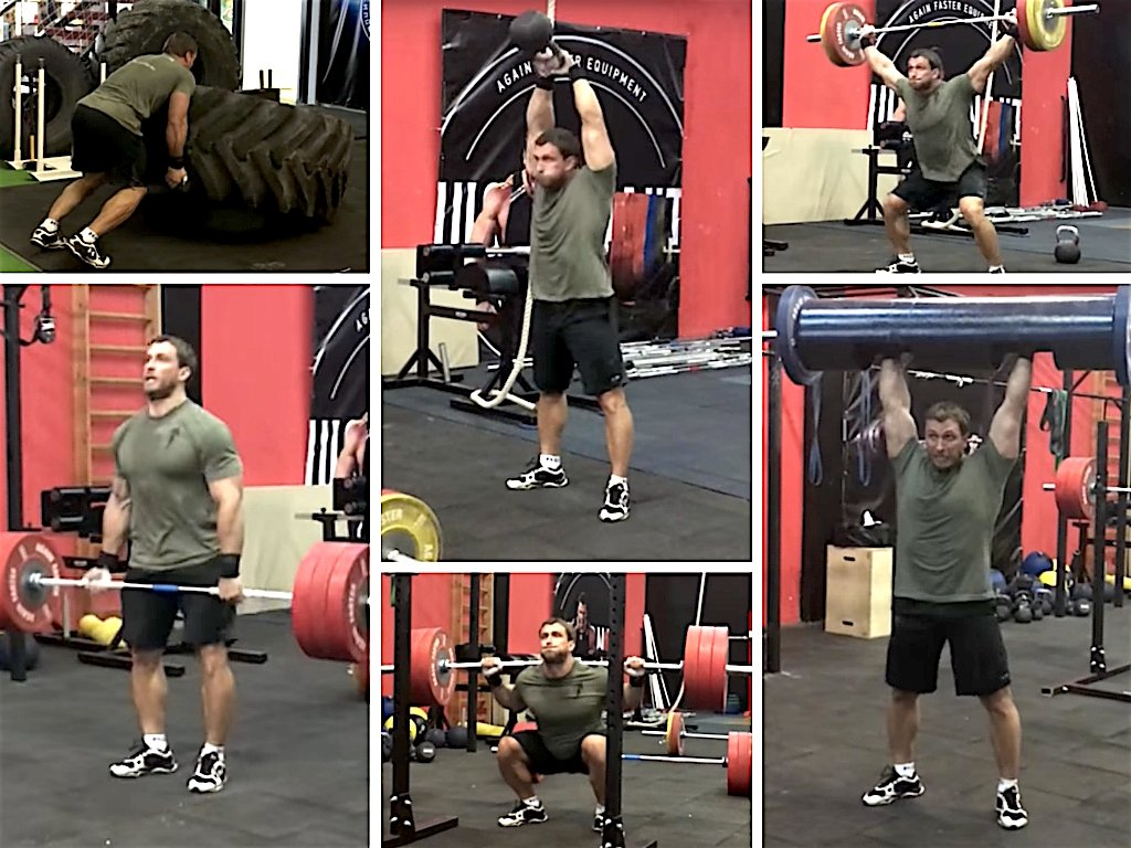 Klokov Strength Workout