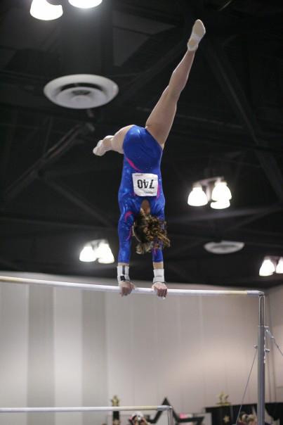 Alexandra LaChance gymnastics