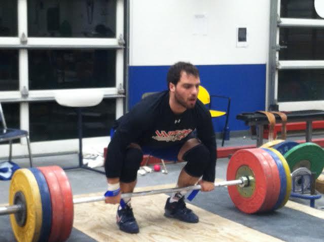 Mike Nackoul Training