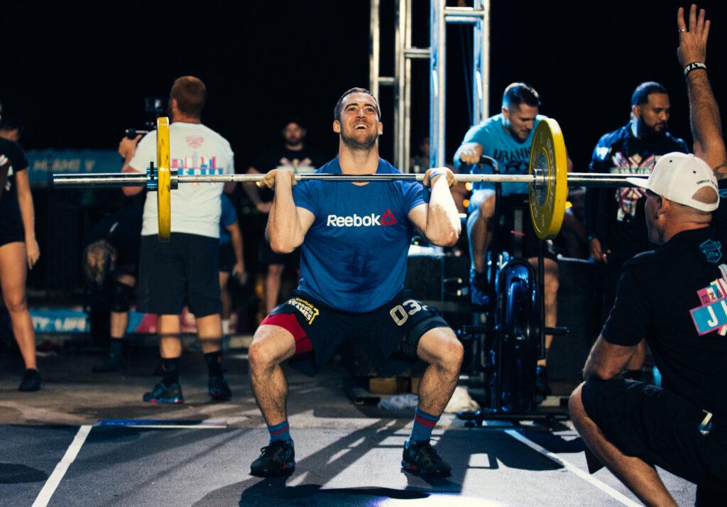 CrossFit Regionals top scores