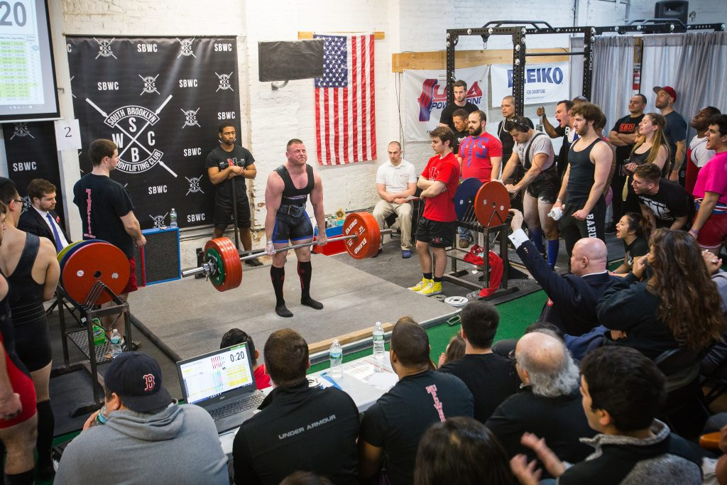 Powerlifting at South Brooklyn Weightlifting Club