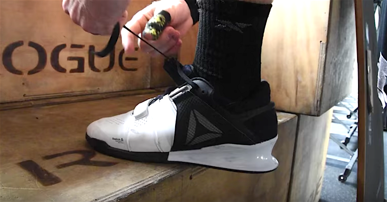 0fd400dfe229f2 Graham Holmberg Gives Closer Look at New Reebok Weightlifting Shoes ...