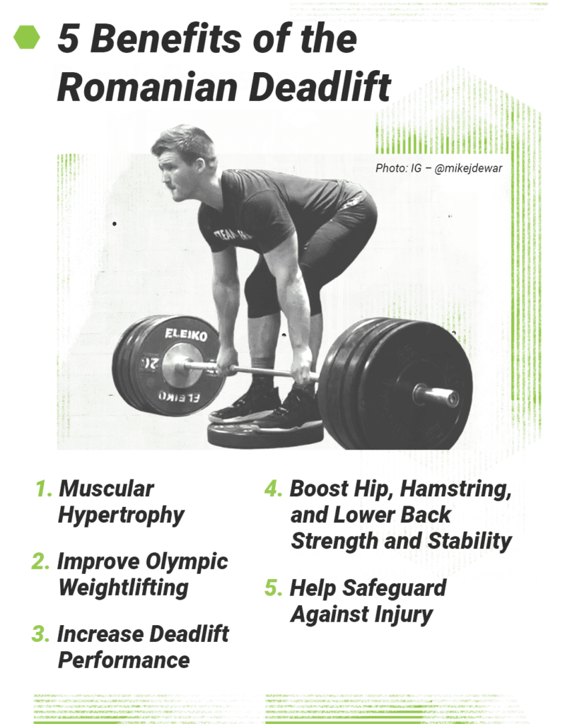 Benefits lifters can experience from Romanian Deadlifts