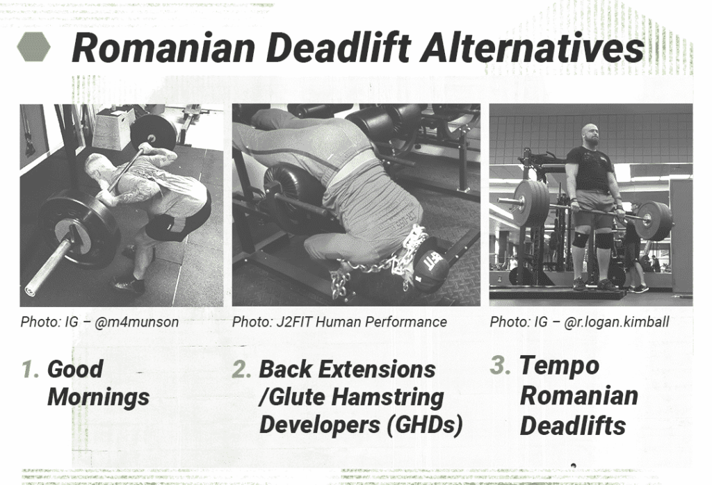 Common alternatives to the RDL