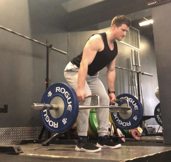 aabfebd1af1c Trap Bar Deadlift Exercise Guide - Middle Pull