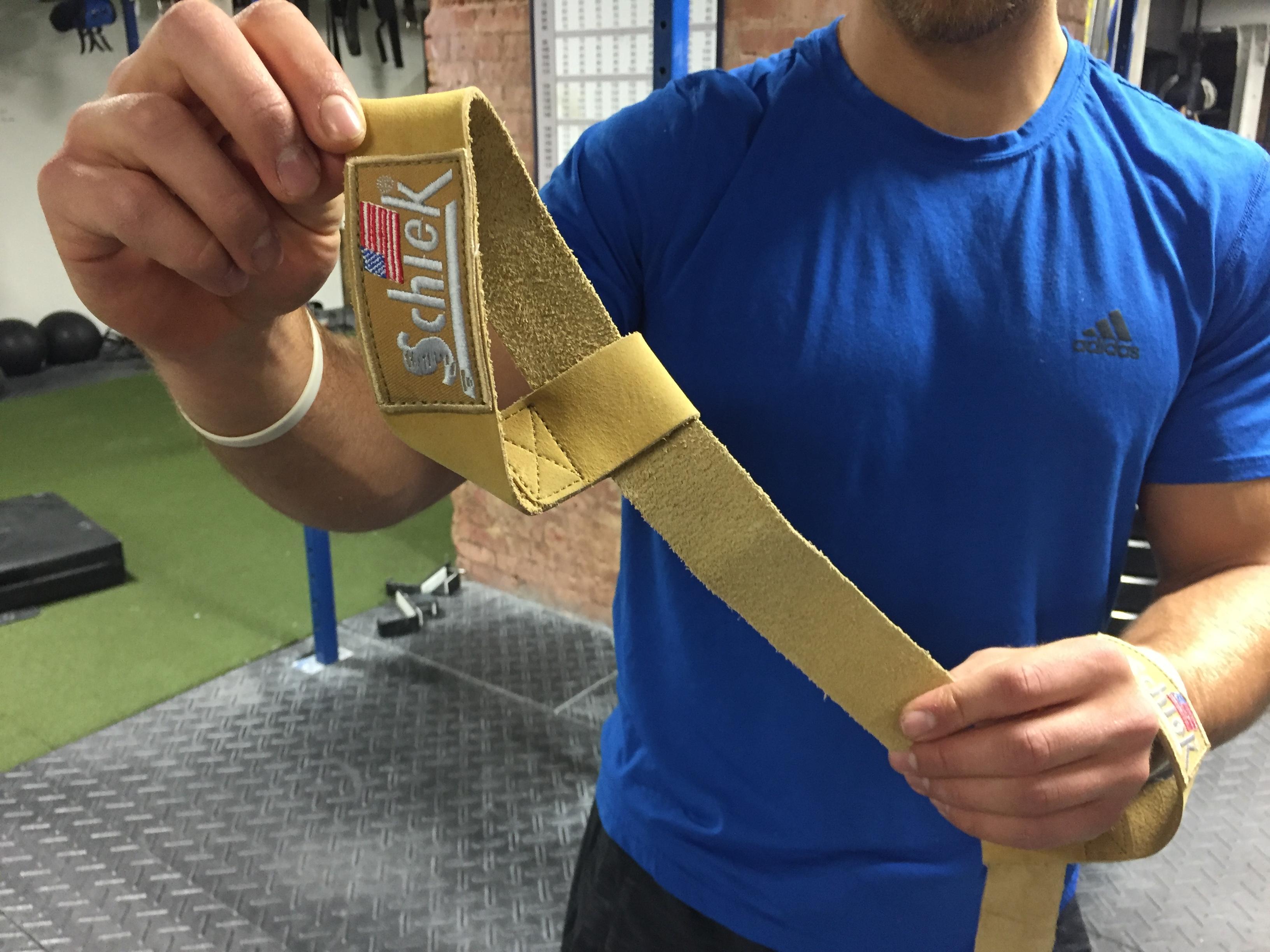 Schiek Leather Lifting Straps