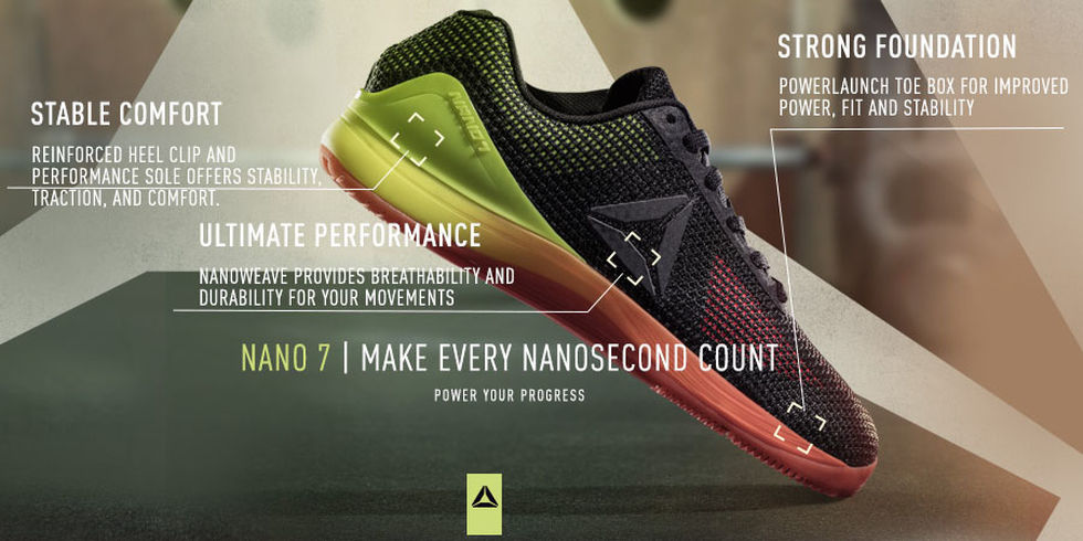 check out 4c696 07cff The New Reebok CrossFit Nano 7.0 Is Now Available - BarBend