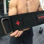 "Harbinger 4"" Nylon Weightlifting Belt"