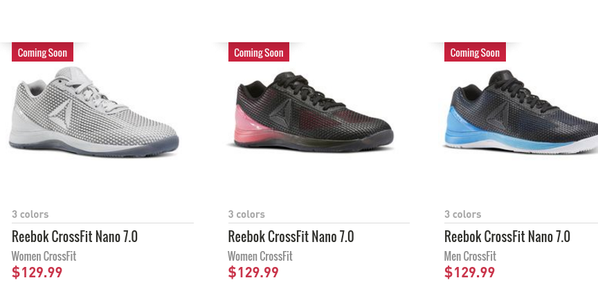 1e06f5f47bd The New Reebok CrossFit Nano 7.0 Is Now Available - BarBend