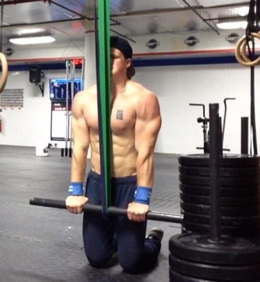 banded triceps pressdown