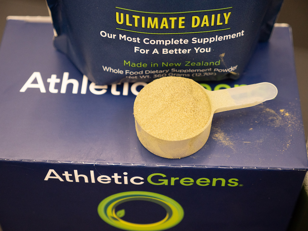 Athletic Greens Scoop