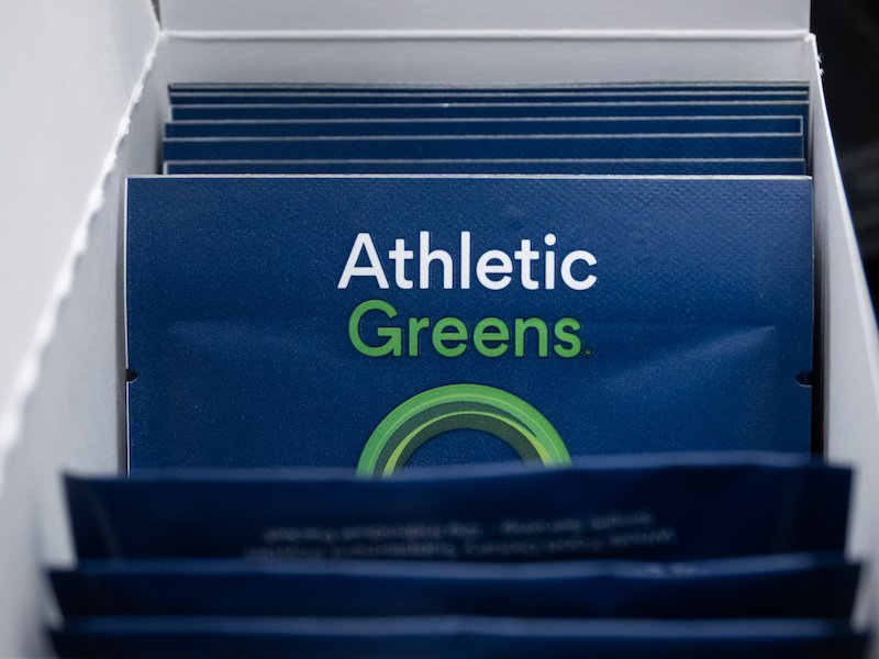 Athletic Greens packets