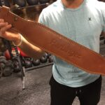 "Harbinger 4"" Classic Oiled Leather Belt"