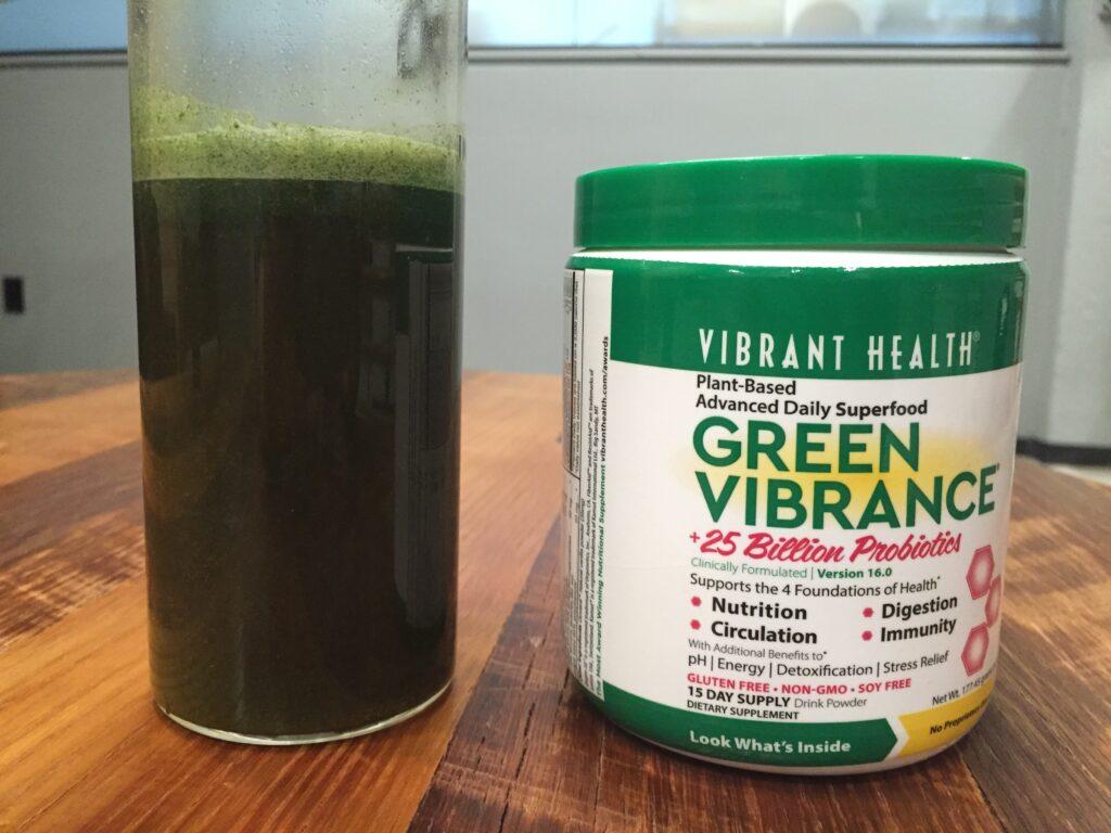 Green Vibrance Taste