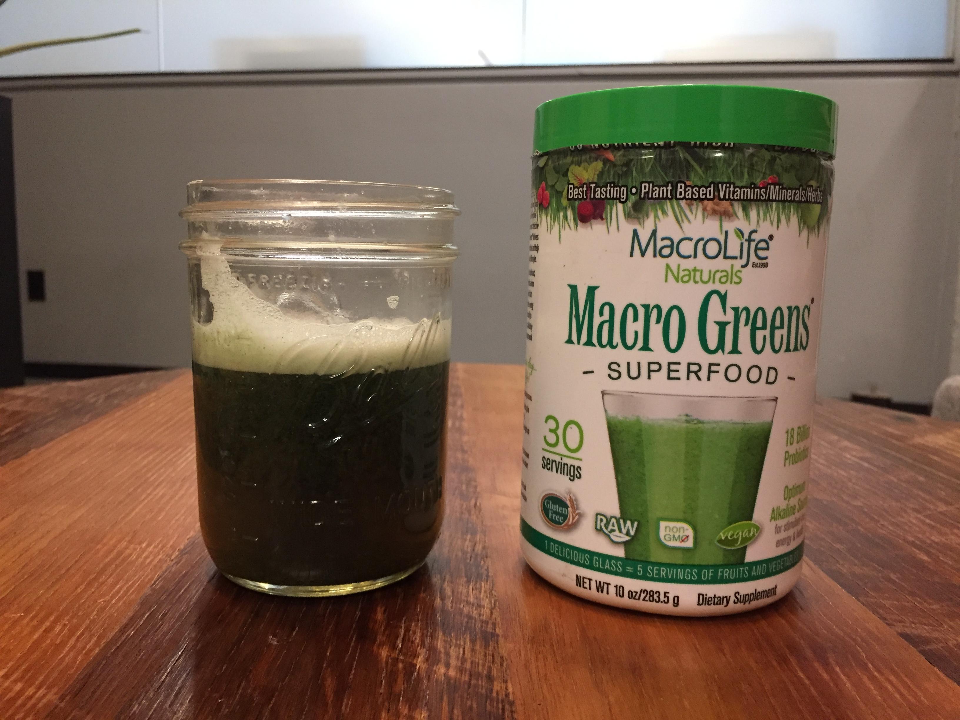 Macro Greens Superfood Benefits