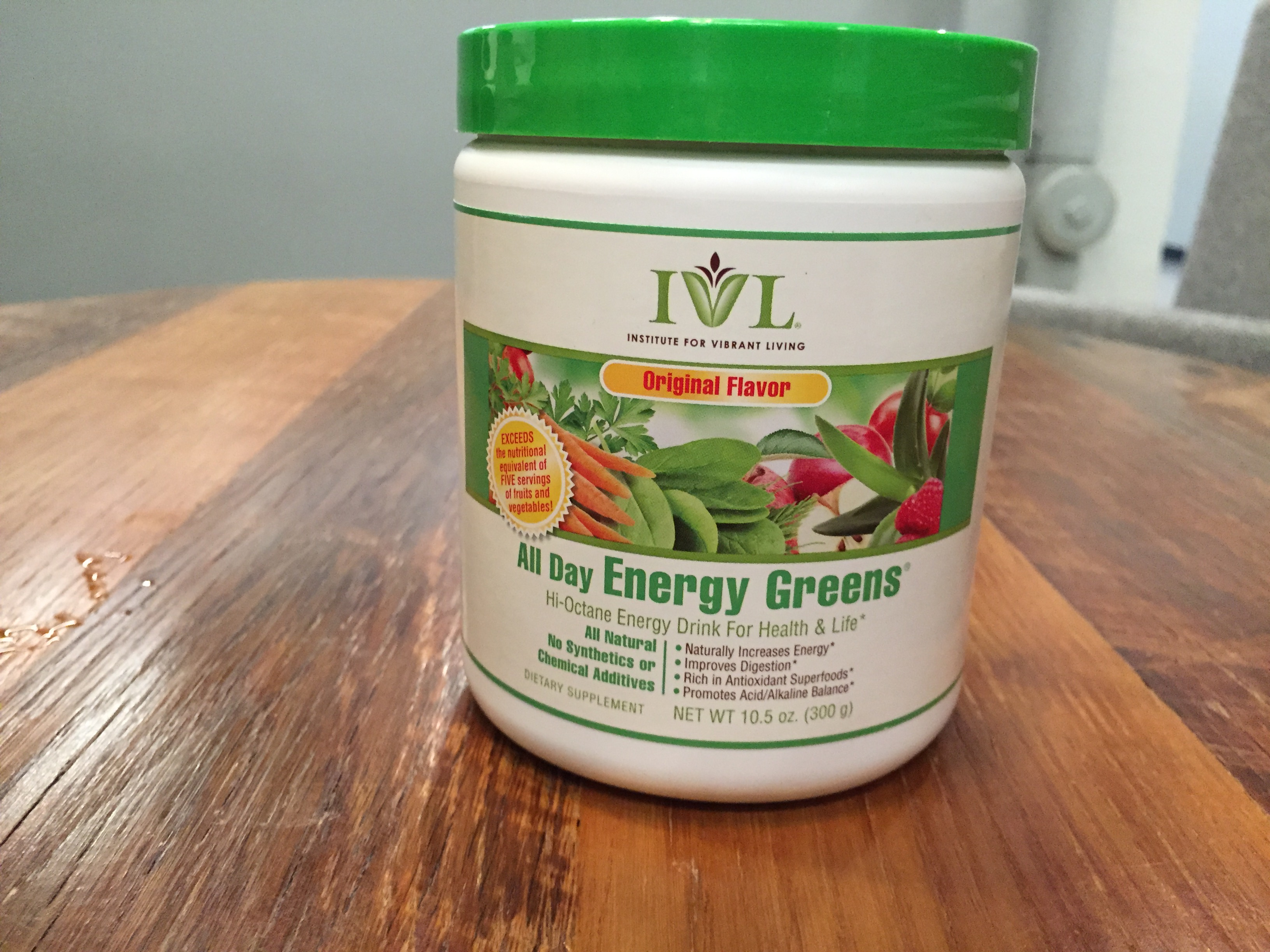 All Day Energy Greens Nutrition