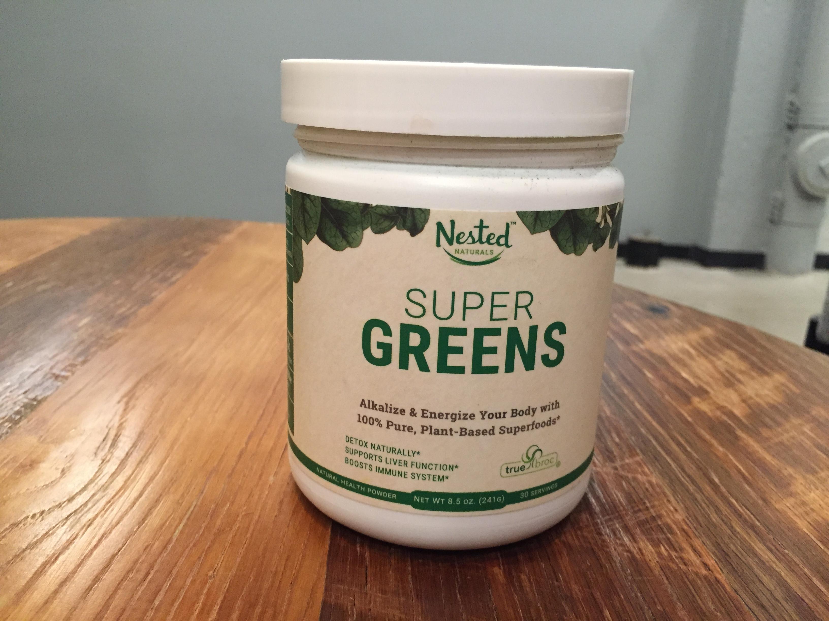 Nest Naturals Super Greens Price