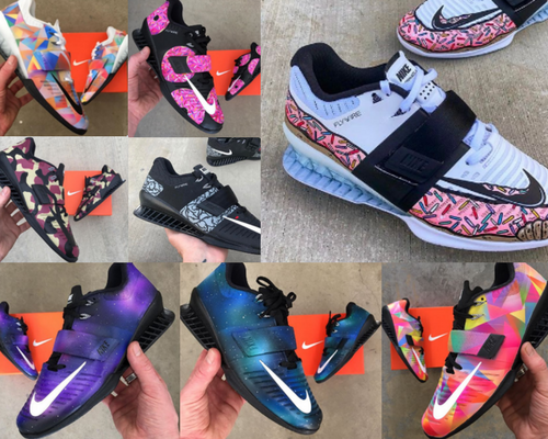 brand new cdab9 1bcc4 The Coolest Custom Painted Nike Romaleos 3 (So Far)