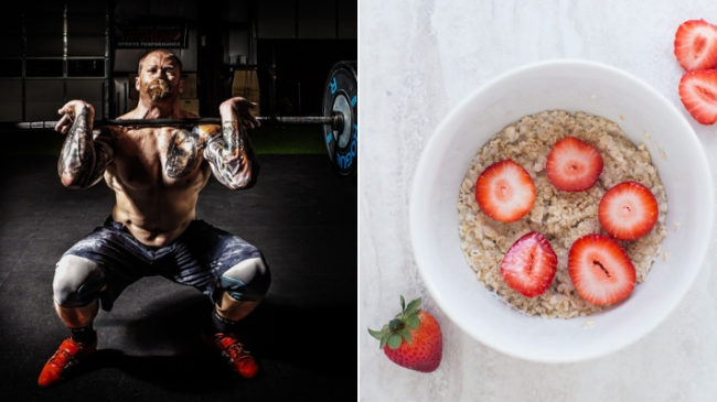 crossfit workout nutrition