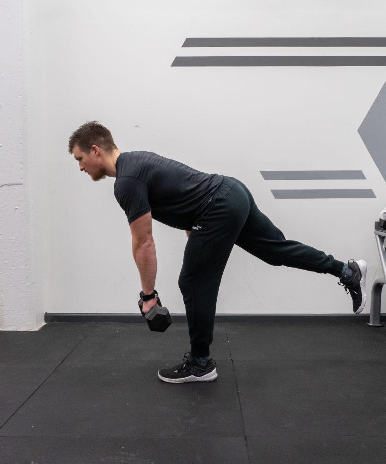 Single Leg Romanian Deadlift Exercise Guide