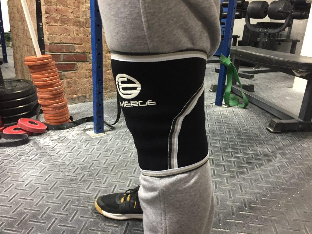 Emerge Fitness Knee Sleeves Fit
