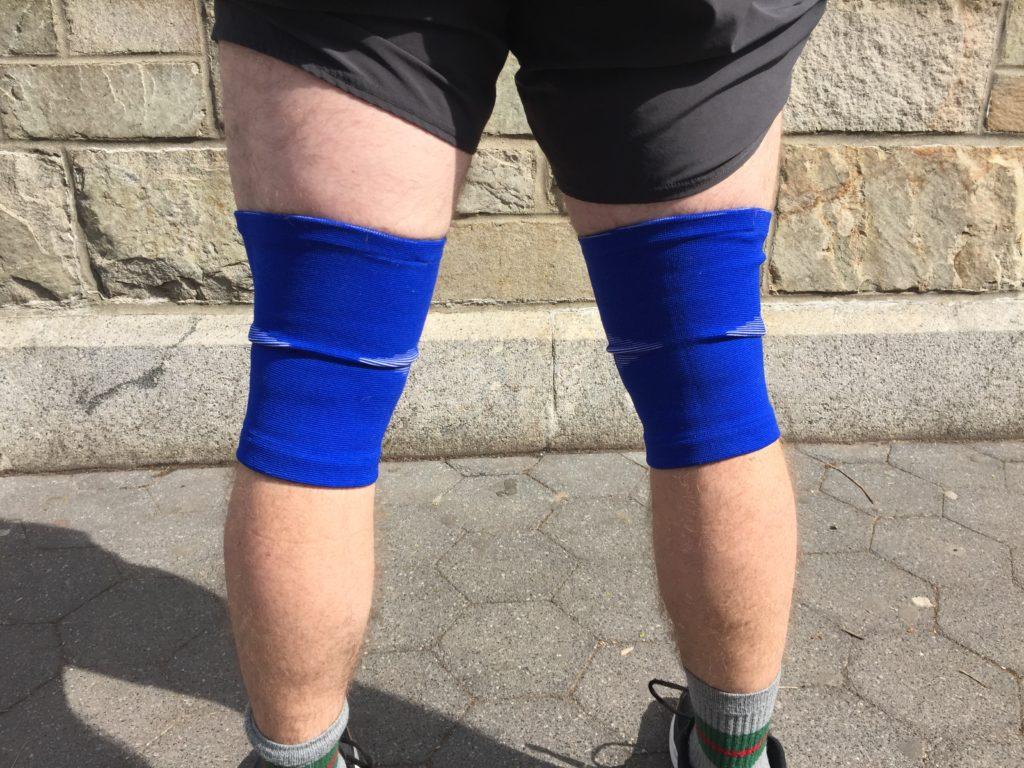Hookgrip Knee Sleeves Fit