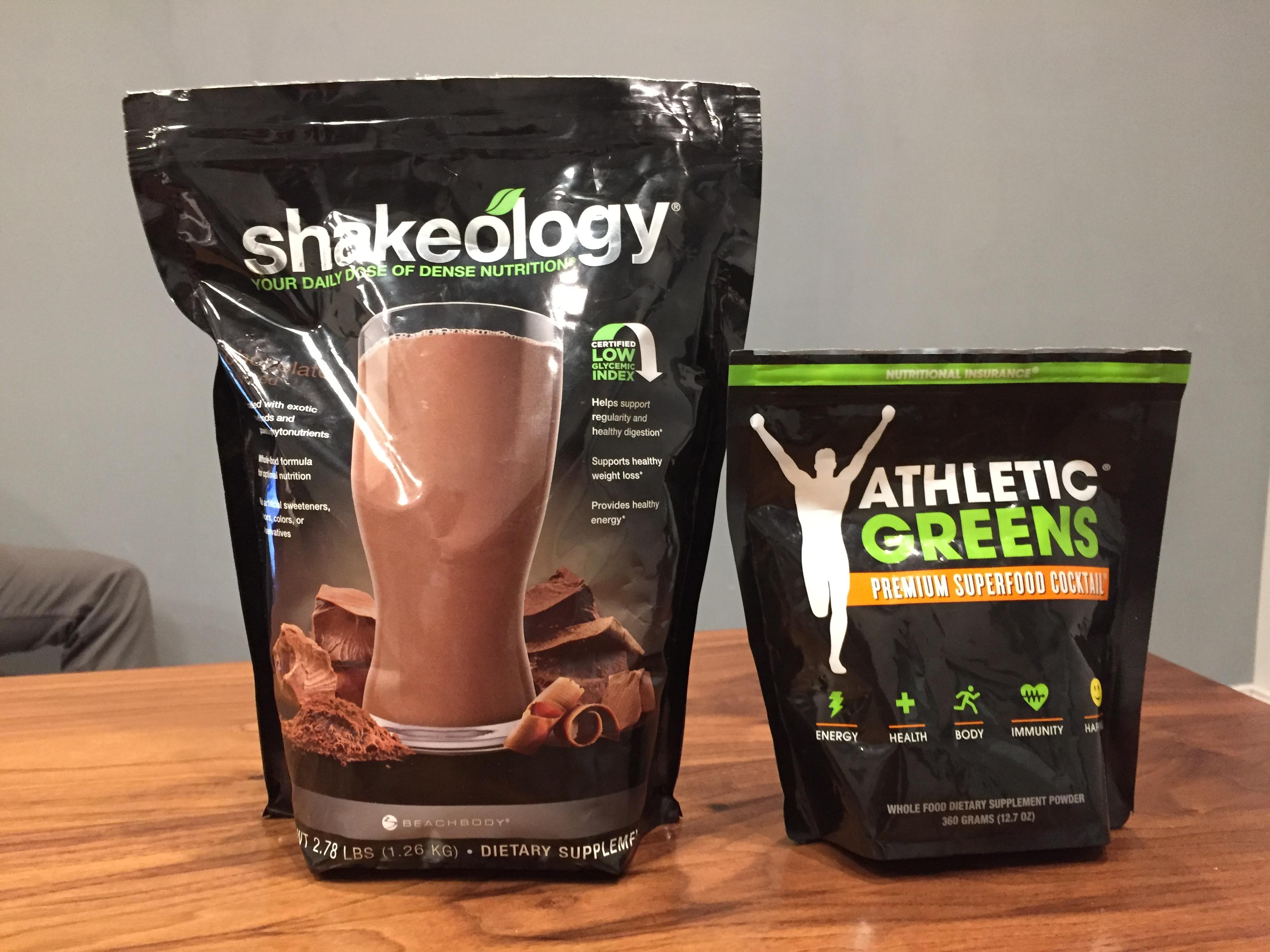 Shakeology Versus Athletic Greens