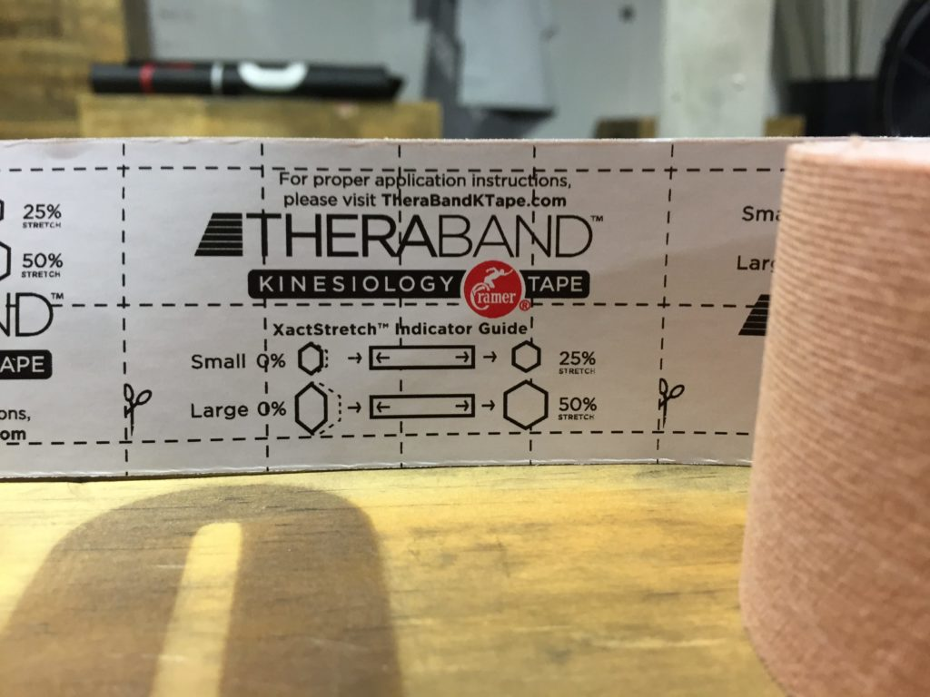 TheraBand Kinesiology Tape Fit