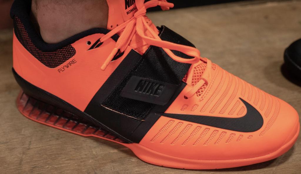 Nike Romaleos 3 Upper Shoe Construction