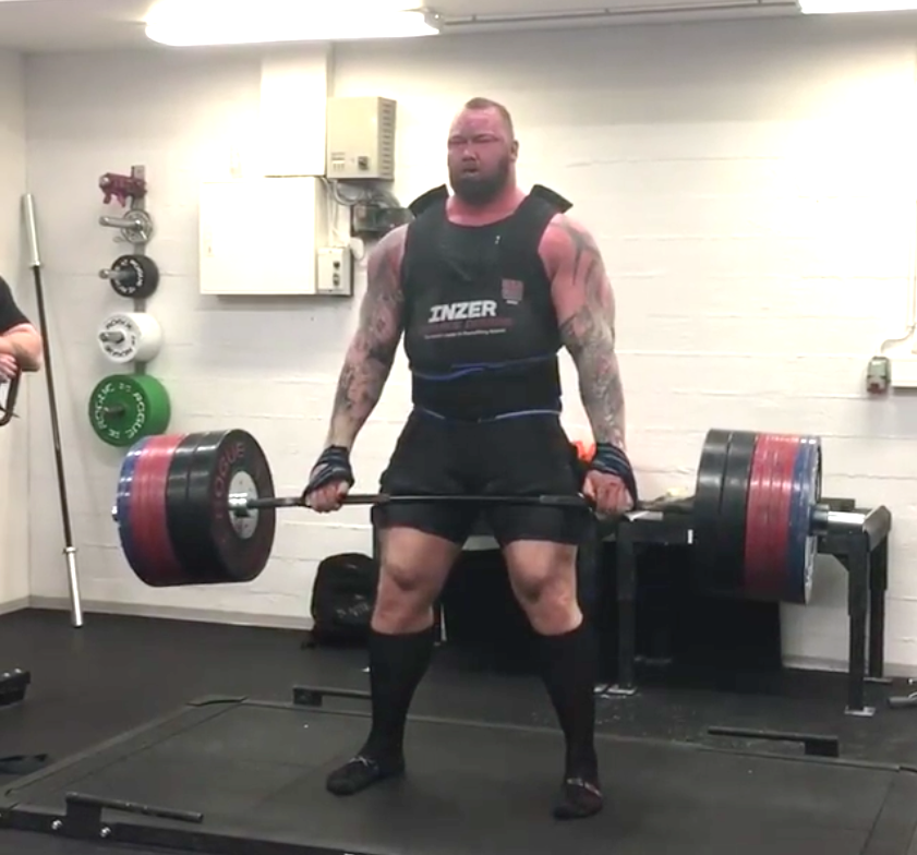 Check Out Thor Quot The Mountain Quot Bjornsson Deadlifting 400kg