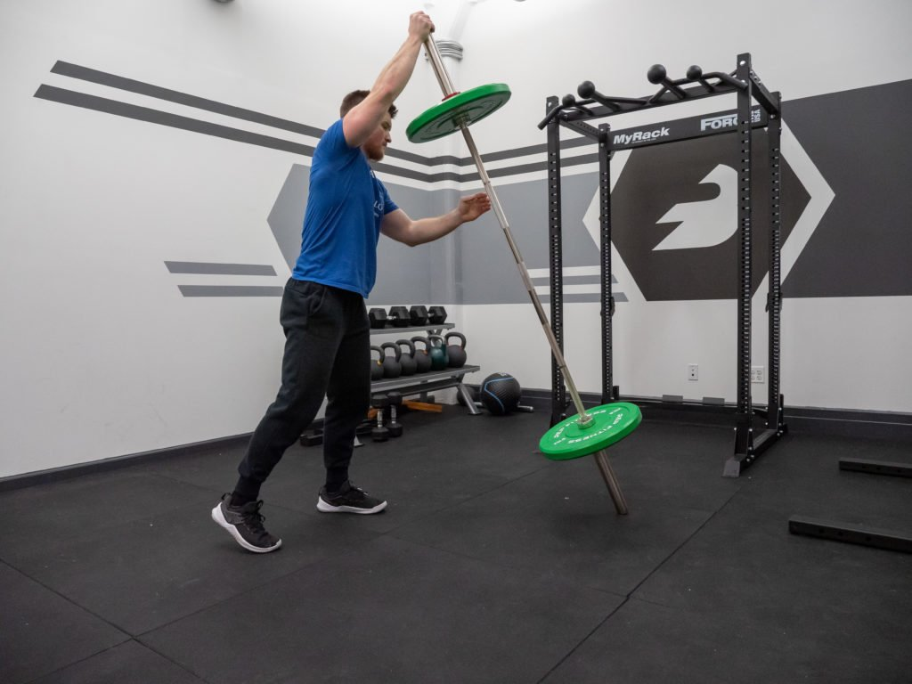 Steinborn Squat Exercise Guide - Lift Barbell Upright