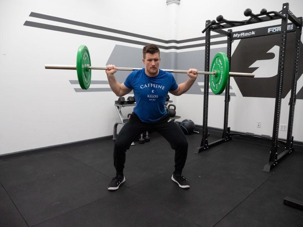 Steinborn Squat Exercise Guide - Squat Position