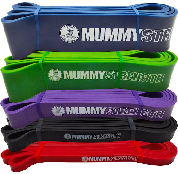 Mummy Strength Pull Up Bands Review