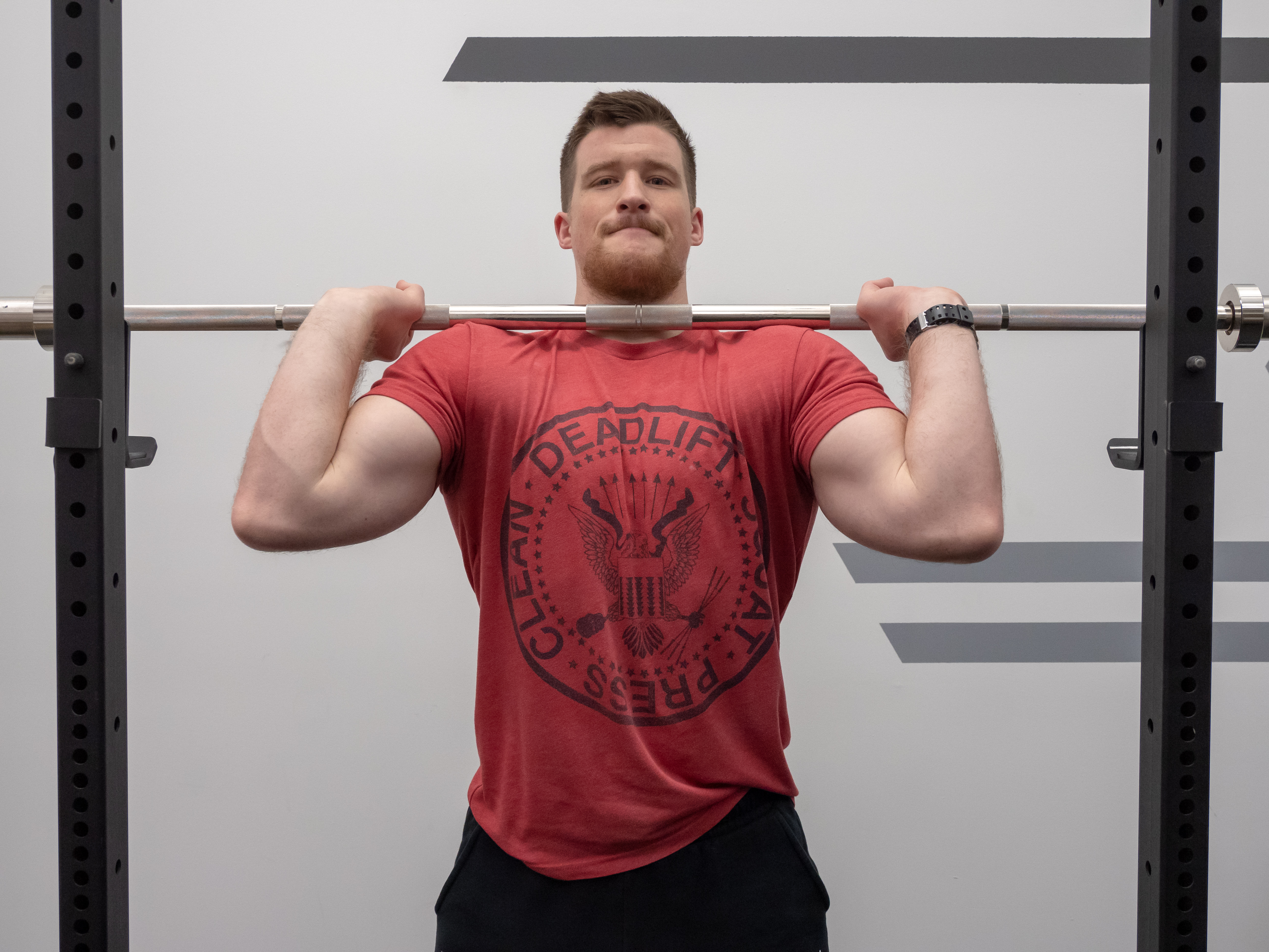 Front Squat Exercise Guide Proper Form And Muscles Worked Barbend