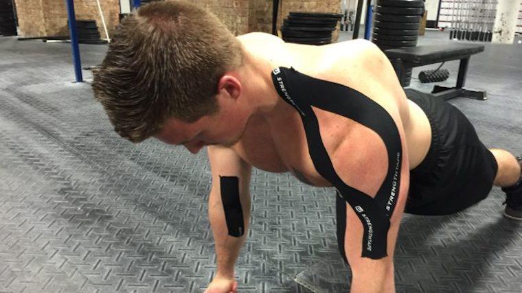 StrengthTape Kinesiology Tape Fit