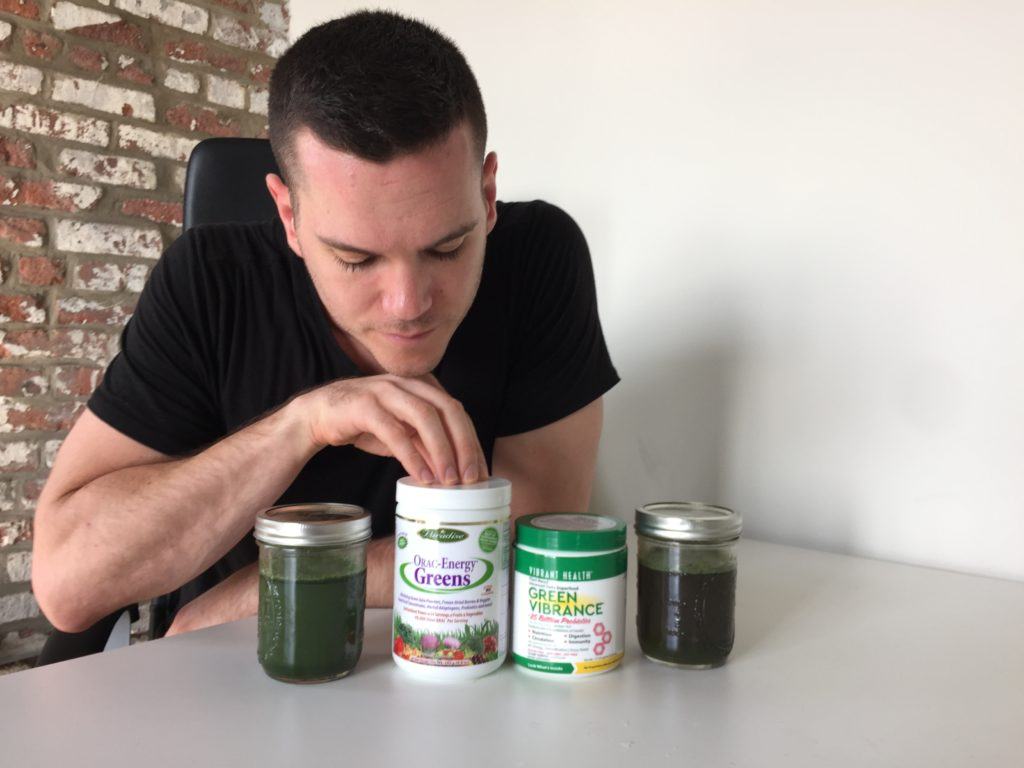ORAC-Energy Greens vs. Green Vibrance Taste