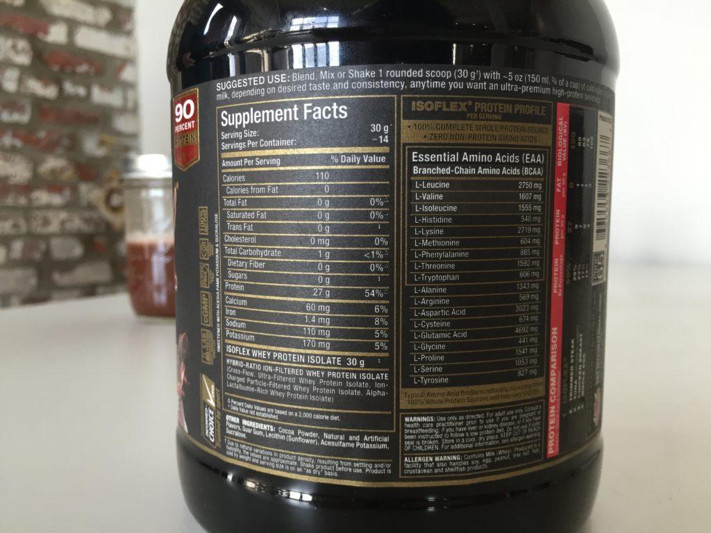 AllMax IsoFlex Nutrition